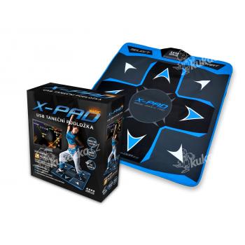 Taneční podložka X-PAD, Basic Dance Pad, PlayDance edition (PC+MAC)
