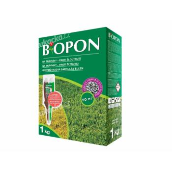 Hnojivo BOPON na trávník proti žloutnutí 1kg - VÝPRODEJ