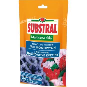 Substral - krystalické balkónové květiny 250 g