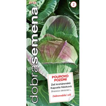 Dobrá semena Zelí kruhárenské - Pourovo pozdní 0,8g - VÝPRODEJ