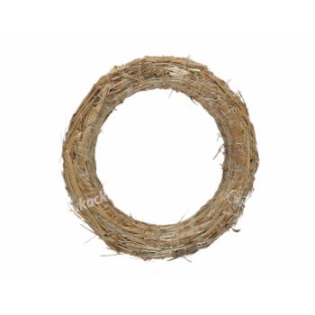 Kruh aranžovací slámový d20/3cm - VÝPRODEJ