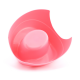Dětský nočník, pastelově růžový s kačenkou, Cuculo 3bottom