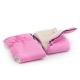 Rukávník ke kočárku 2v1, vlna, růžový, Cuculo - 2