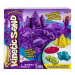Kinetic sand písečný zámek s formičkami a hrací vanou 454g - mix variant či barev