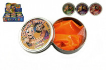 Hmota/modelína 50g inteligentní 8cm mix barev v plechové krabičce - mix variant či barev
