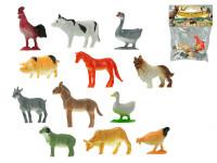 Zvířátka farma 5 cm 12 ks - mix variant či barev