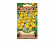 Osivo Rajče tyčkové třešňové GOLDKRONE, žluté