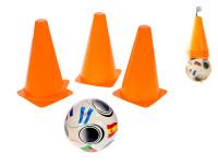 Fotbalové kužely 4 ks s míček