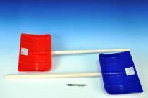 Lopata Hrablo 87cm dřevo/plast - mix barev