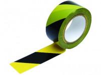 páska výstražná 48mmx33m ŽL-ČER samolepicí