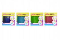 Hmota/modelína inteligentní glitter 8cm v plastové krabičce - mix barev