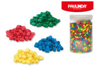 Paulinda Super Beads 5x6 mm 2600 ks s doplňky v dóze - mix barev