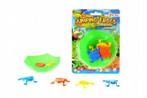 Mini skákající žáby plast