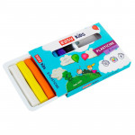 EasyCreative plastelina 8 barev/sada,128g