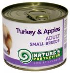 Nature's Protection Dog konz.Small krůta/jablko 200 g