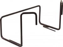 Držák na truhlík balkon - kovový Garden hnědý