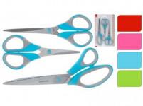 nůžky 14, 17, 21,5cm sada 3díl. - mix barev