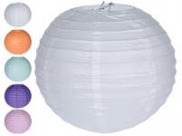 lampion PÁRTY 30cm papírový (3ks) - mix barev
