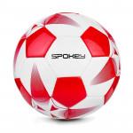 Spokey E2018 I Fotbalový míč bílo-červený, 100% TPU, vel. 5