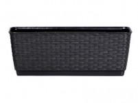 truhlík RATOLLA PW 49,2x17,2x17,4cm ANTR (S433) závěs. s miskou