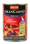 Animonda GranCarno dog konz. - 7+ hovězí, krůtí srdce 400 g