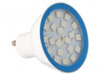 žárovka LED pr.60mm, GU10, MR20,4W/35lm/3000K, MO, stmívatelná