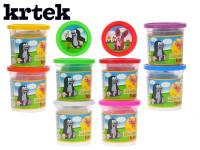Modelína/Plastelína hmota Krtek 140g v kelímku - mix barev
