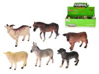 Zvířátka farma plast 14-17cm - mix variant či barev