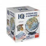 IQ kvízová hra s globusem společenská vědomostní hra v krabici 440 otázek