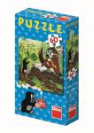 Dino puzzle Jak Krtek uzdravil myšku 60 dílků - mix variant či barev - VÝPRODEJ