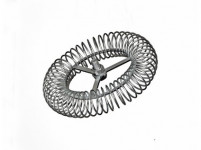 růžice komínová kruhová 160mm/M12, ocel