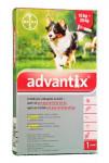 Advantix S.O. pes 10-25kg a.u.v. červený sol 1 x 2,5 ml