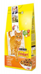 Friskies cat dry - kuře, zelenina 4 kg