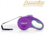 Domestico vodítko samonavíjecí Easy Lock 5m/20kg fialové