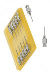 Jehla kovová LL 1,2x15mm 12ks
