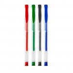 Standard 04-MIX - gelová pera,4 klasické barvy/sada