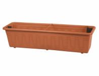 Truhlík samozavlažovací GARDENFLOR plastový terakota 50cm