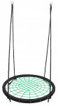 Houpací kruh síť průměr 100 cm - zelený
