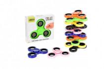 Fidget Spinner kov/plast 7cm v krabičce - mix variant či barev