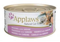 Applaws Cat konz. makrela a sardinky 70 g