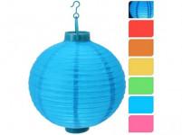 osvětlení LAMPION pr.20cm 1LED papír - mix barev