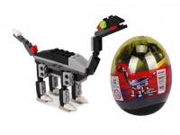 Stavebnice Wange – Dinosaur ve vejci (Tanystropheus - černý)