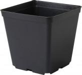 Květináč - kontejner, tvrdý plast 13x13x13 cm
