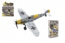 Letadlo model BF-109 Messerschmitt 4D plast mix druhů