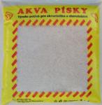 Písek akvarijní Akva č.1 - bílý říční jemný 3 kg