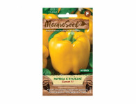 Osivo Paprika zeleninová k rychlení GARNET F1, žlutá - VÝPRODEJ