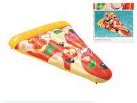Lehátko nafukovací pizza 188x130 cm s držátkem na pití max.90 kg
