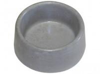 Miska beton kulatá č.36 Bemi prům. 132 x 57 mm