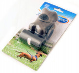 Pouzdro plast na sáčky - kost DUVO+ 1 ks