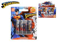 Superman baterie AA/LR6 Alkaline 1,5 V 4 ks